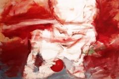 Alles gut wird, 50x70, oil on canvas, 2017