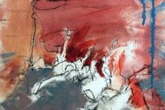 Ein Haufen guter Ideen, 30x30, oil on canvas, 2017