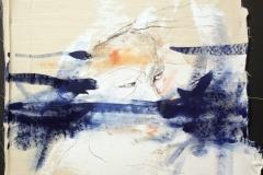 Wird er das noch sagen dürfen?, 40x45, oil on canvas, 2017