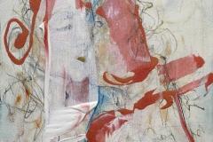 bejo 2, 40x30, mixed media on canvas, 2019