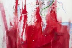 je je je t'aime, 120x100, mixed media on canvas, 2019